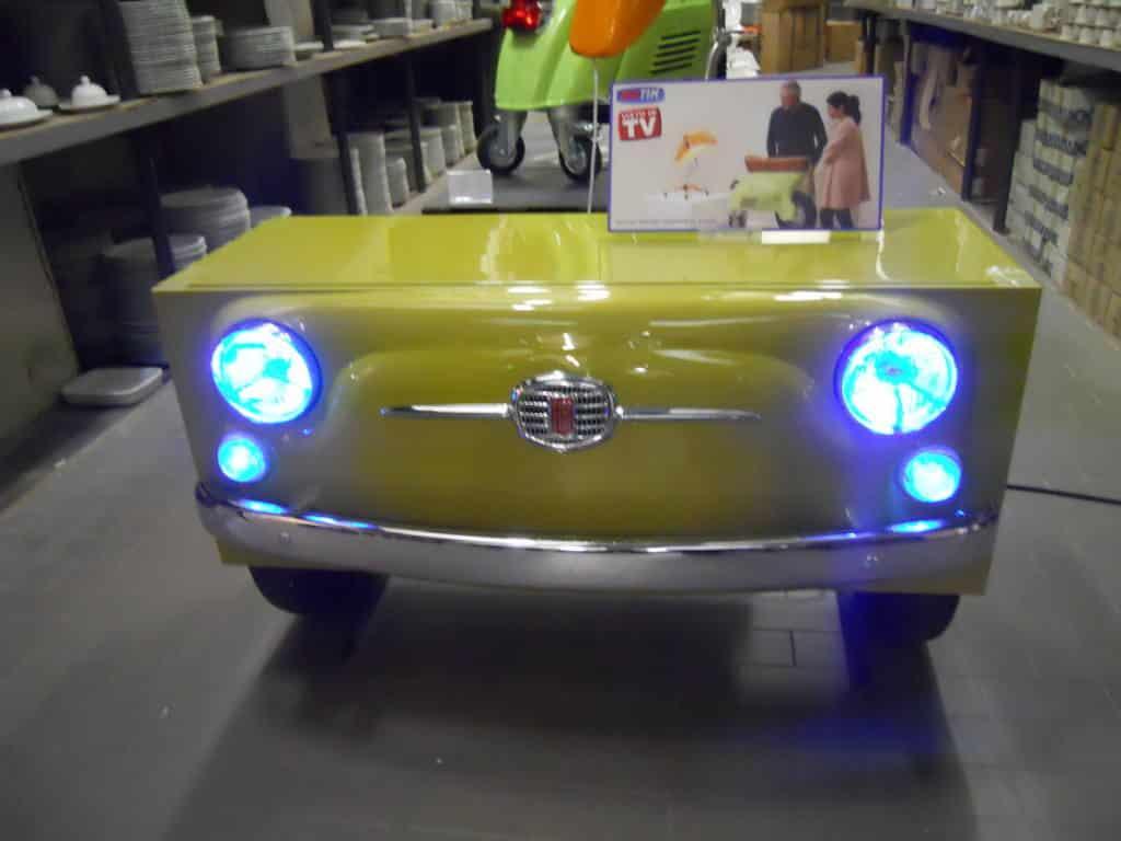 Fiat 500 Cabinet anteriore