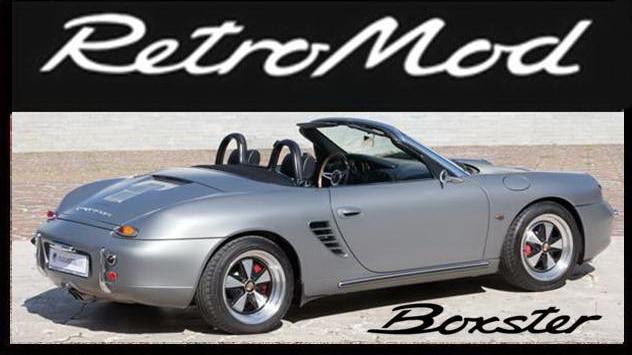 Porsche Boxster RetroMod Button