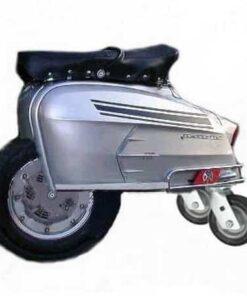 Lambretta Wheeled Stool