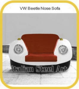VW Beetle Nose Sofa