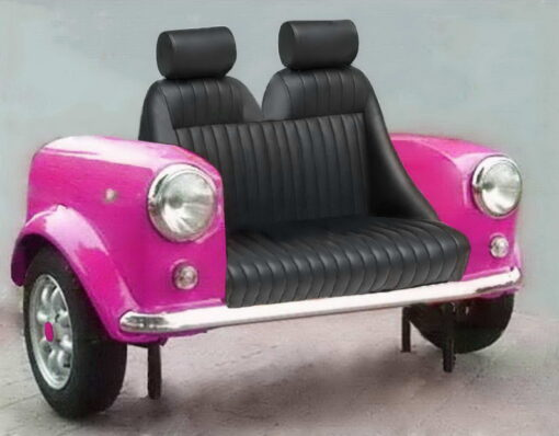 mini couch sport pink