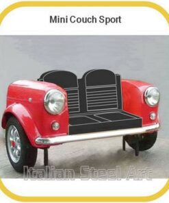 mini couch sport in red