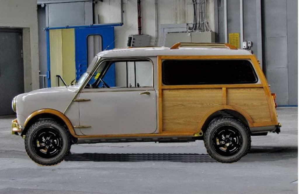 Mini T Lifted Electric
