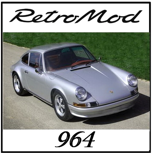 Porsche Retromod white 964