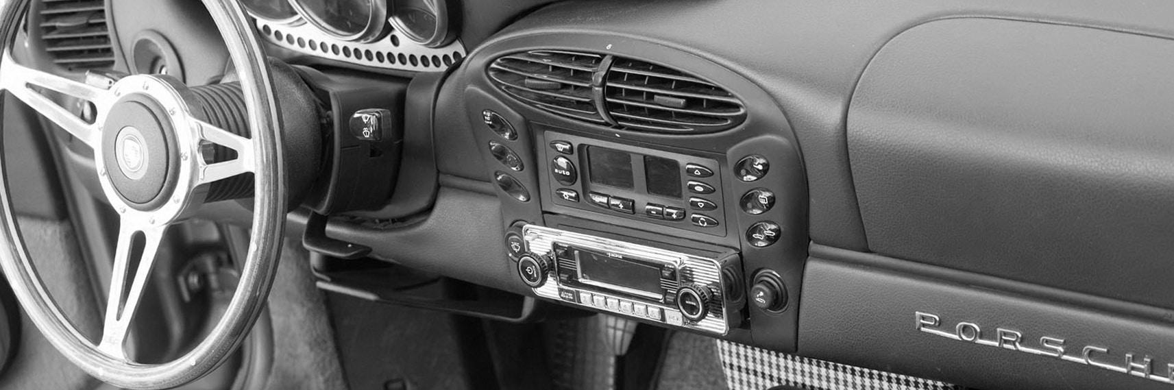 Porsche Boxster RetroMod Cockpit