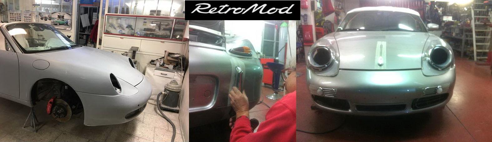 Porsche Boxster RetroMod Banner 4