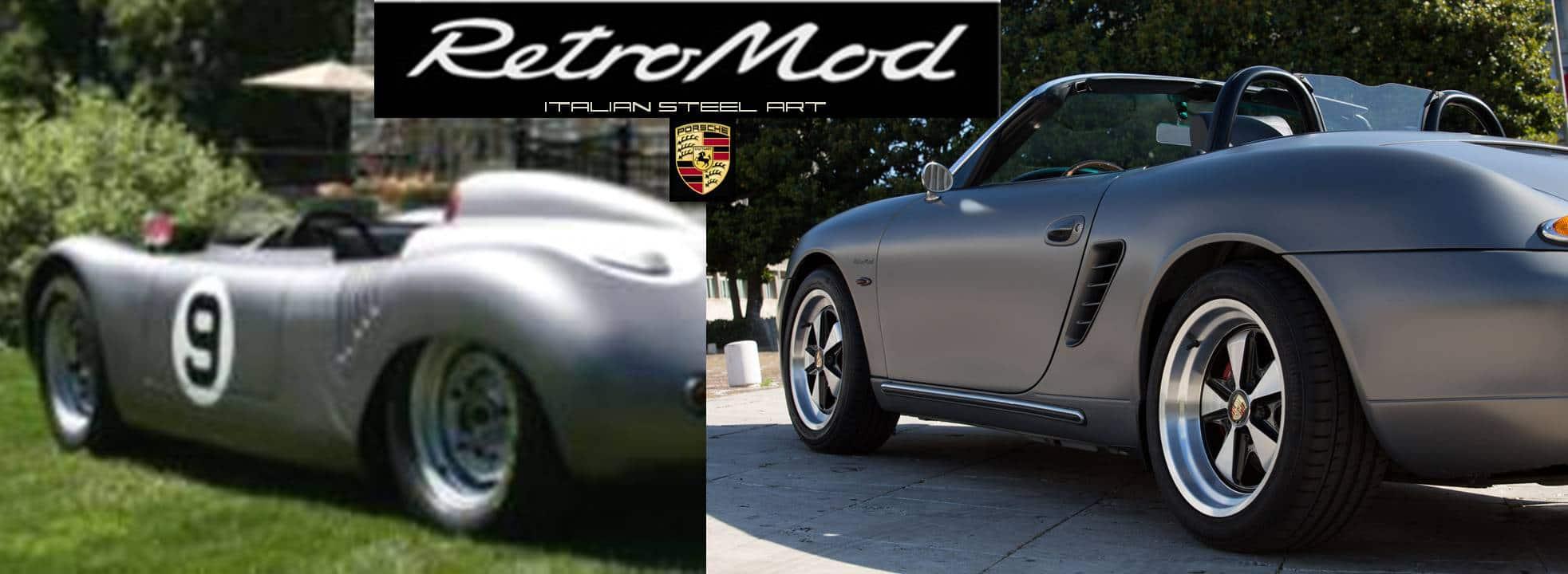 Porsche Boxster RetroMod comparison
