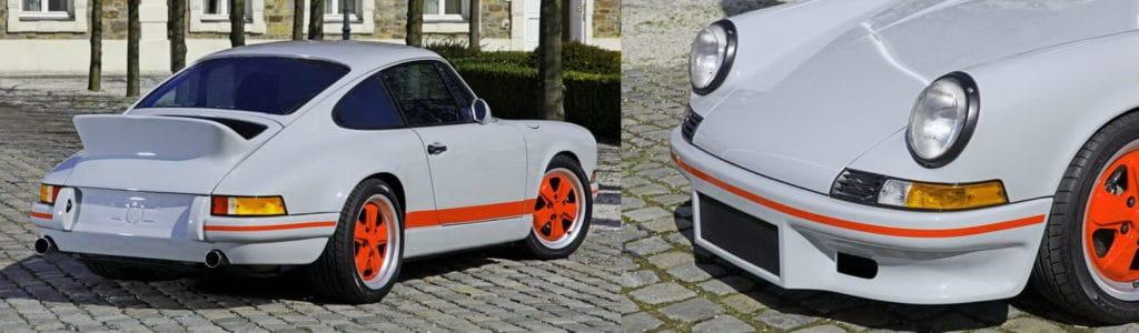 Banner Porsche 964 retromod grey2