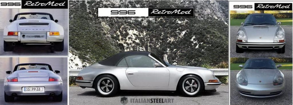 PORSCHE 996 cabrio RetroMod banner