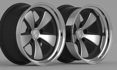porsche-911-badass wheels