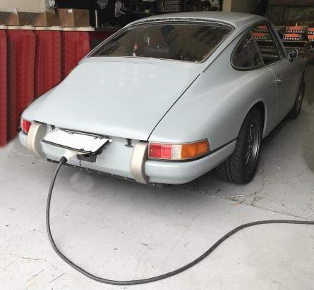 Porsche 911 electric conversion recharge