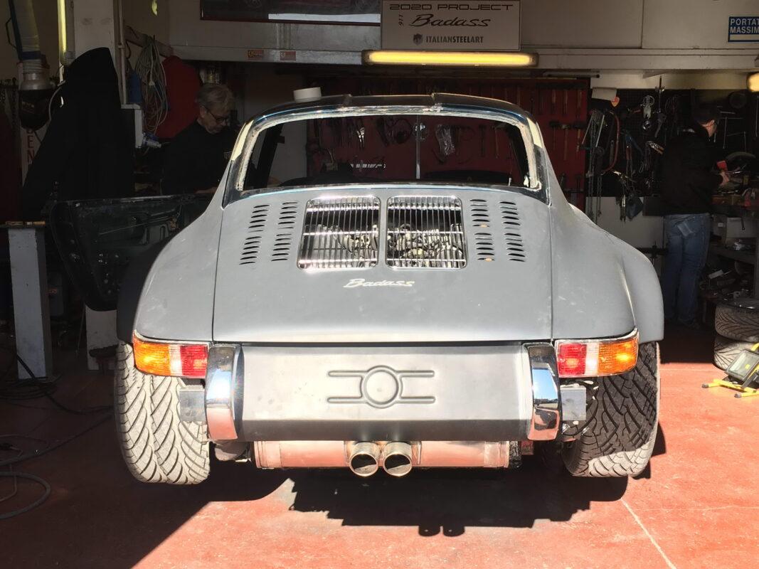 Porsche Badass tail