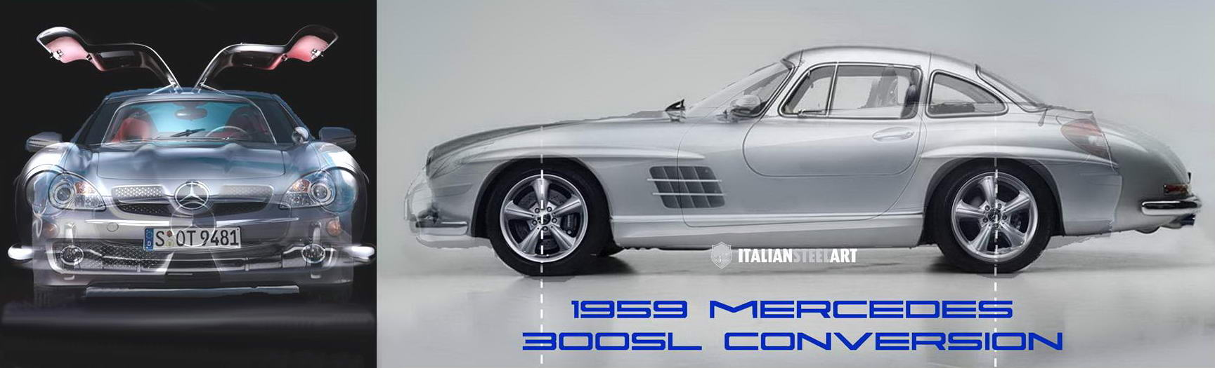 mercedes 300sl conversion banner