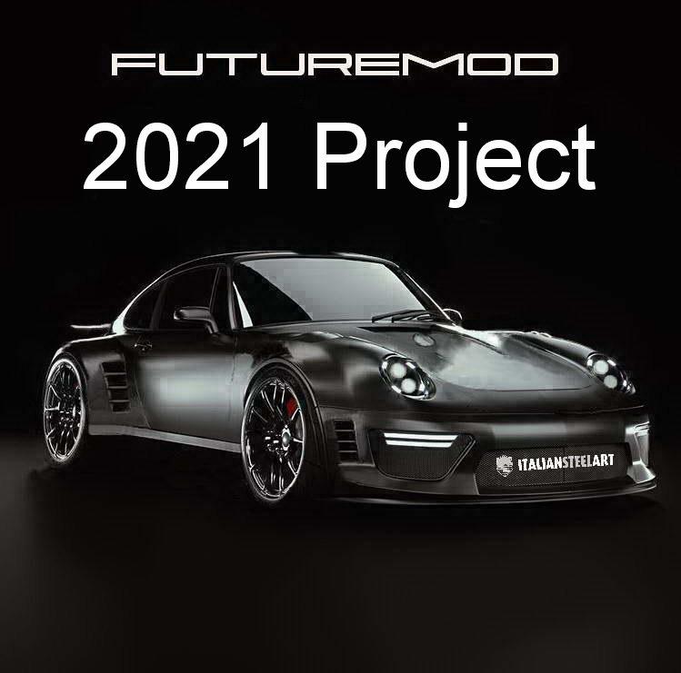 Porsche Futuremod front