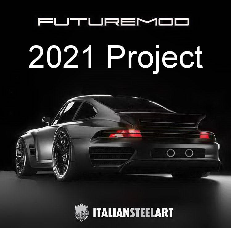 Porsche Futuremod tail