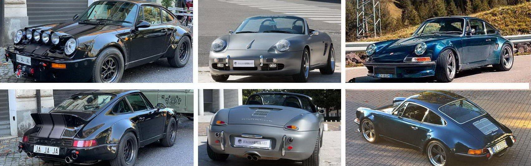 Banner Porsche Productsa
