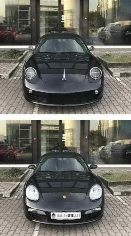 987 retromod before after front A