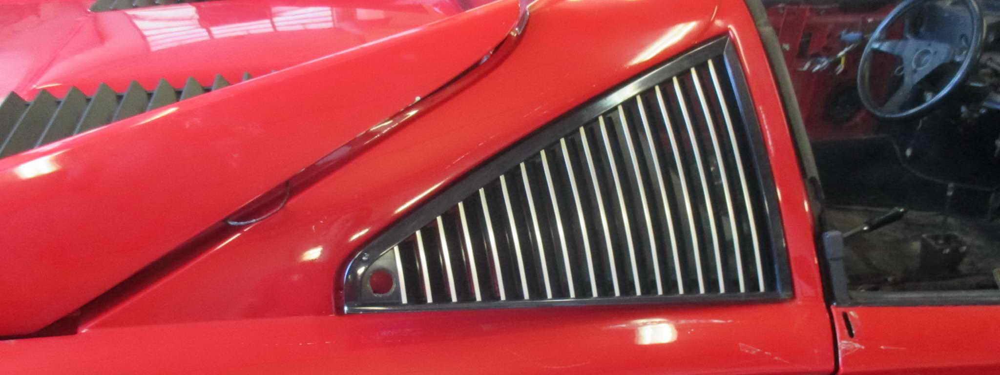 Ferrari 308 restoration banner