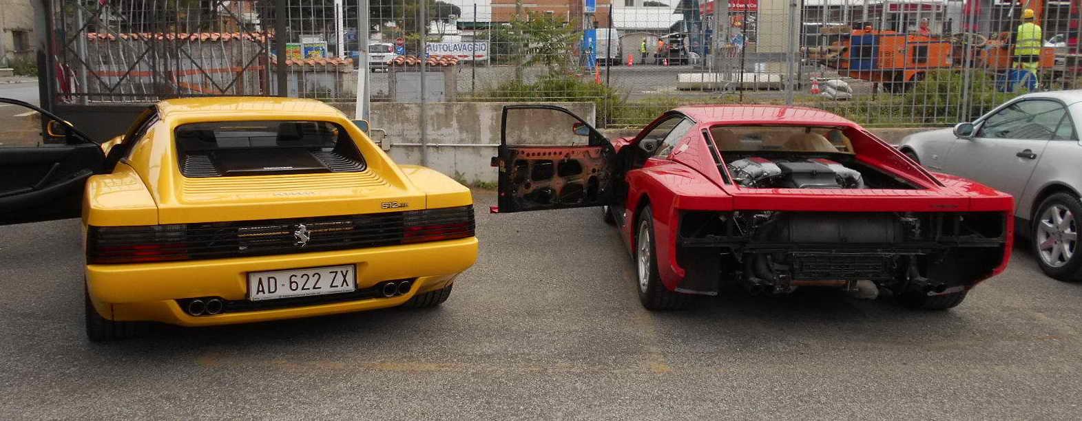 Ferrari Testarosssa restoration banner 4