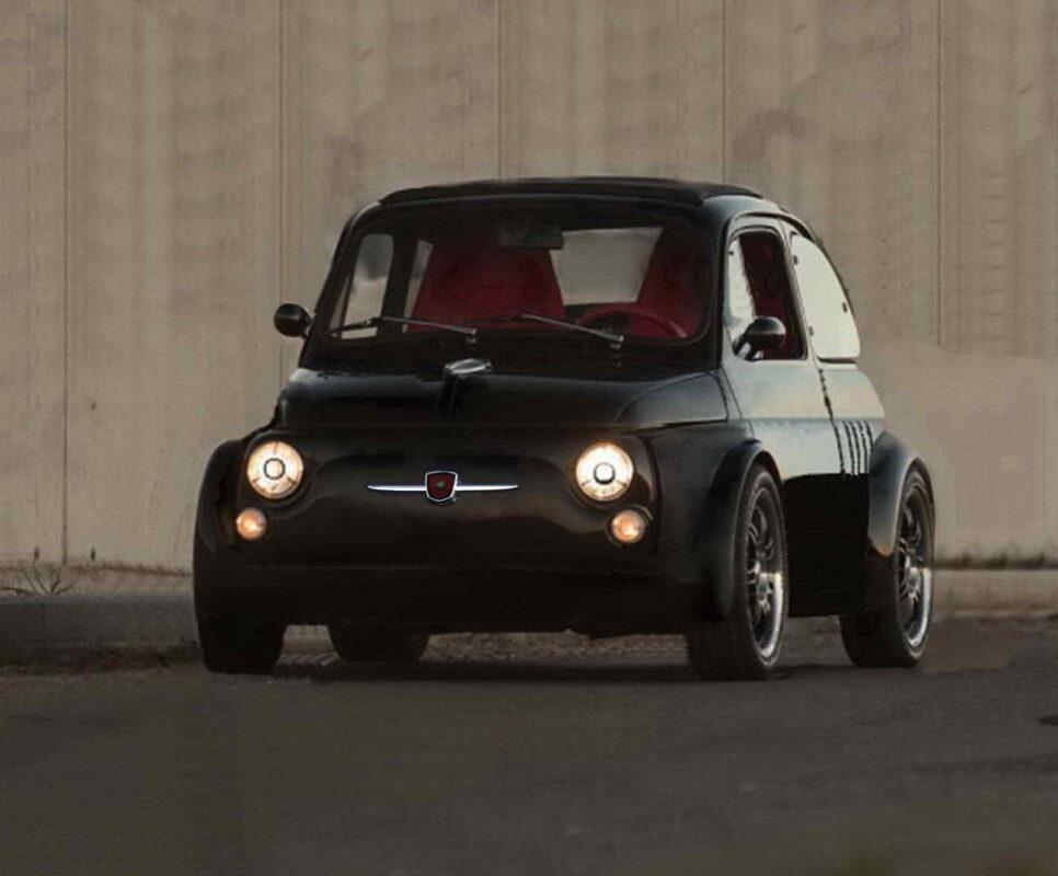Fiat 500 ItalianSteelArt frontale