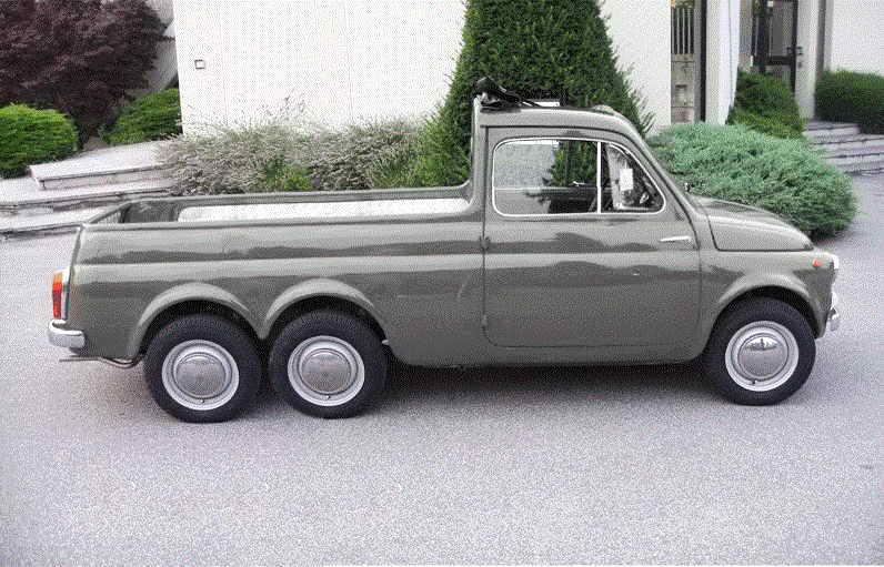 Fiat 500 giardiniera 3 assi
