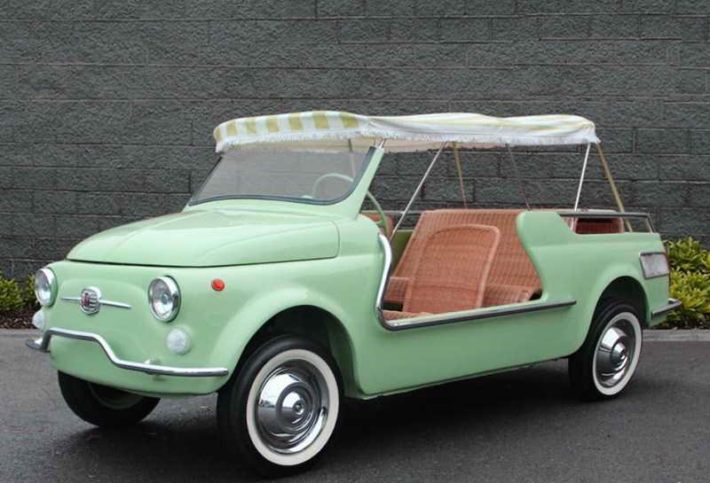 Fiat 500 giardiniera aperta