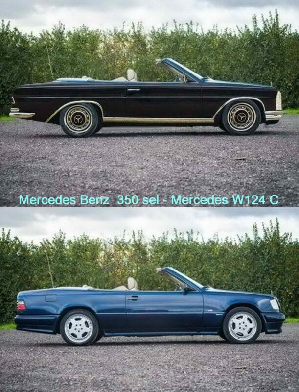 Mercedes 300CE Conversion