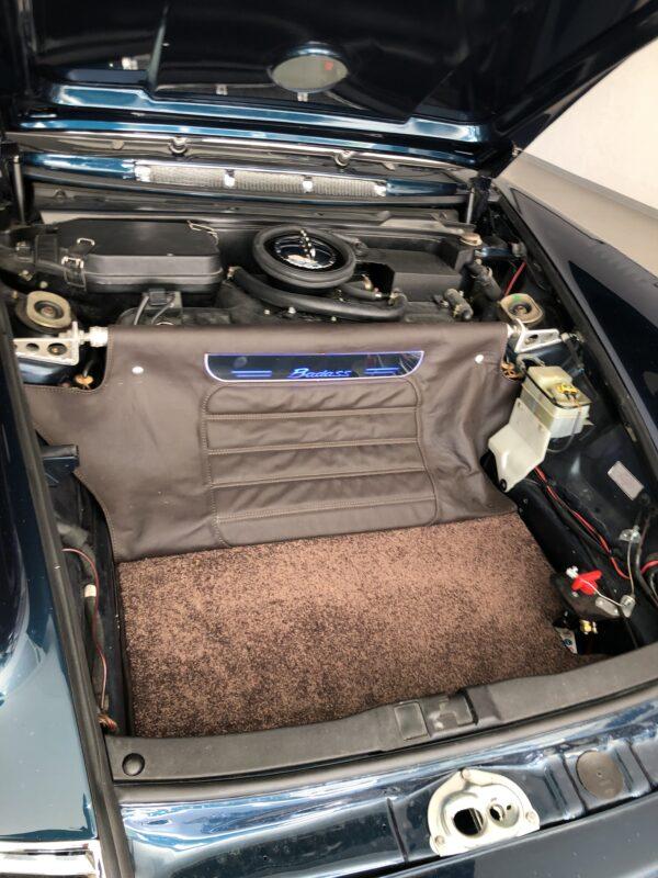 Porsche Badass open trunk
