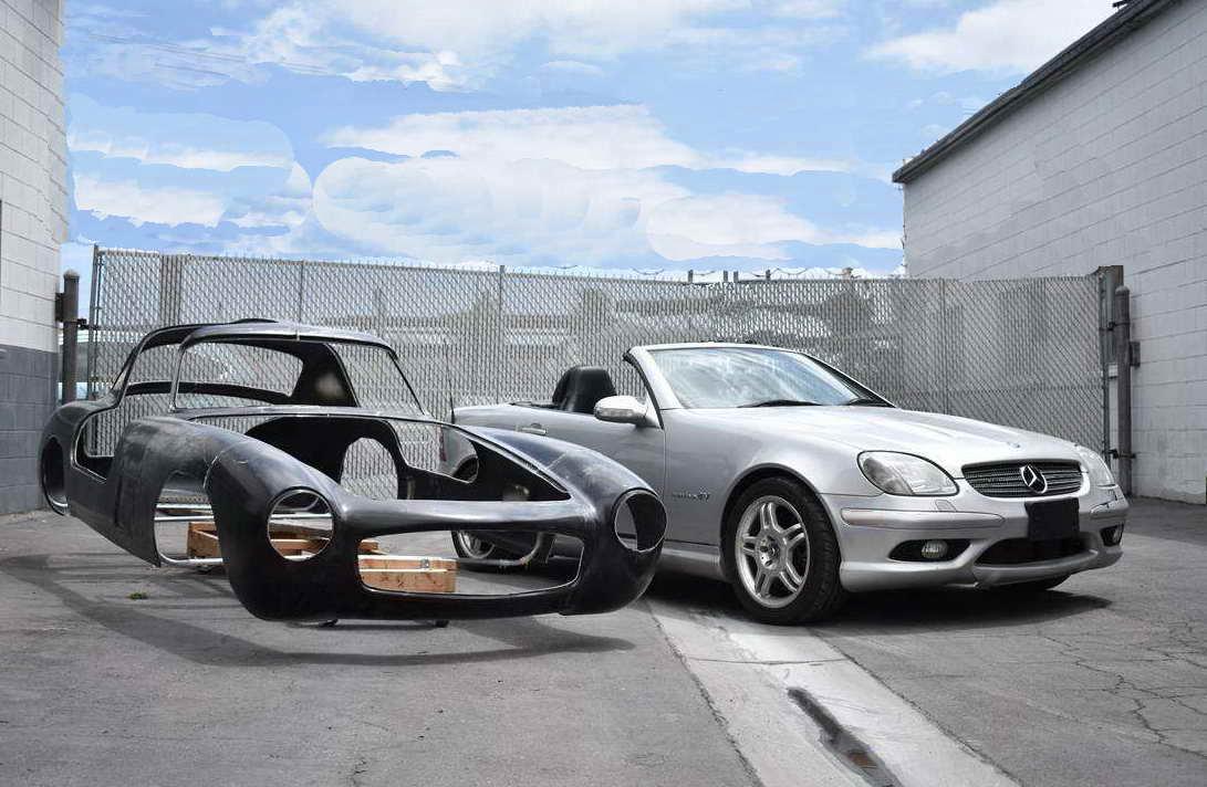 Mercedes Benz 300SL-Body-SLK55