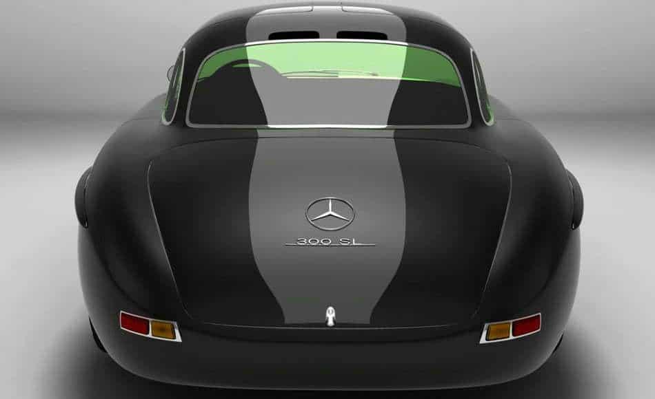 Mercedes Benz 300SL-SLK black tail
