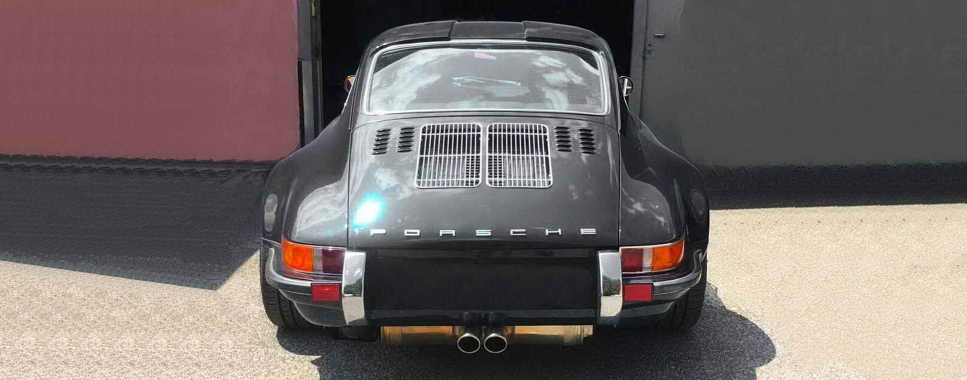 Porsche 964 Badass Graphite banner