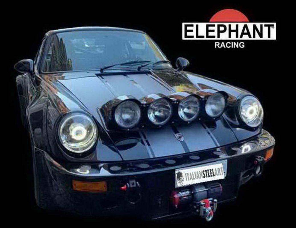 Porsche rough4 -elephant 2 logo