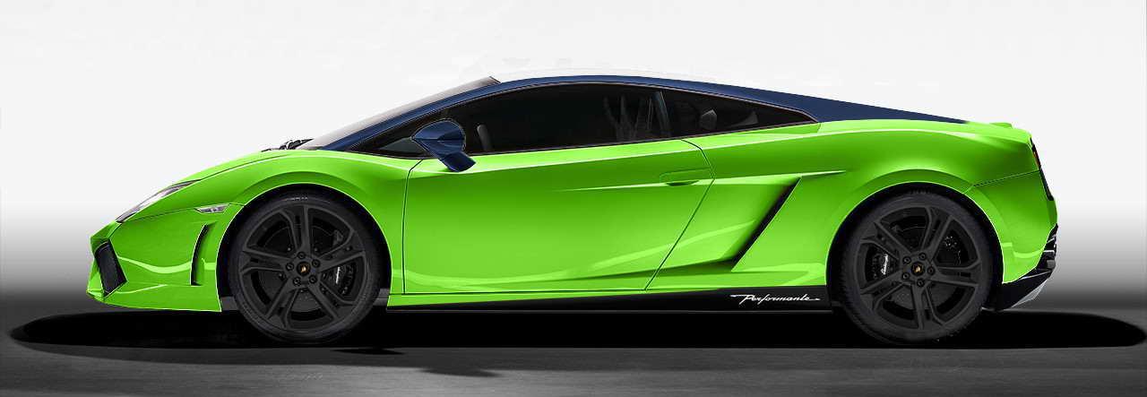 Lambo green wrap